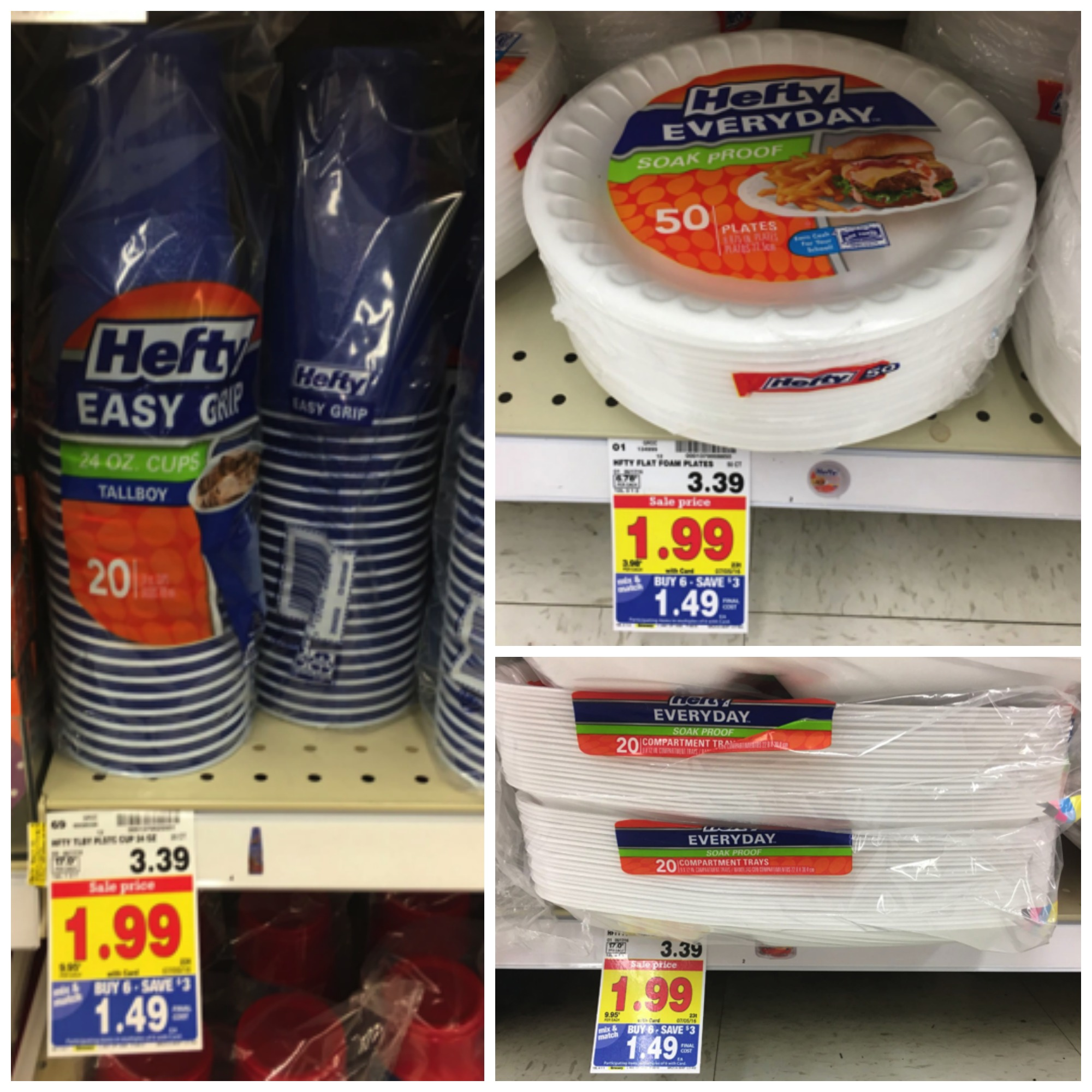 hefty mega & Hefty Plates and Cups Only $0.99 each with Kroger Mega Event ...