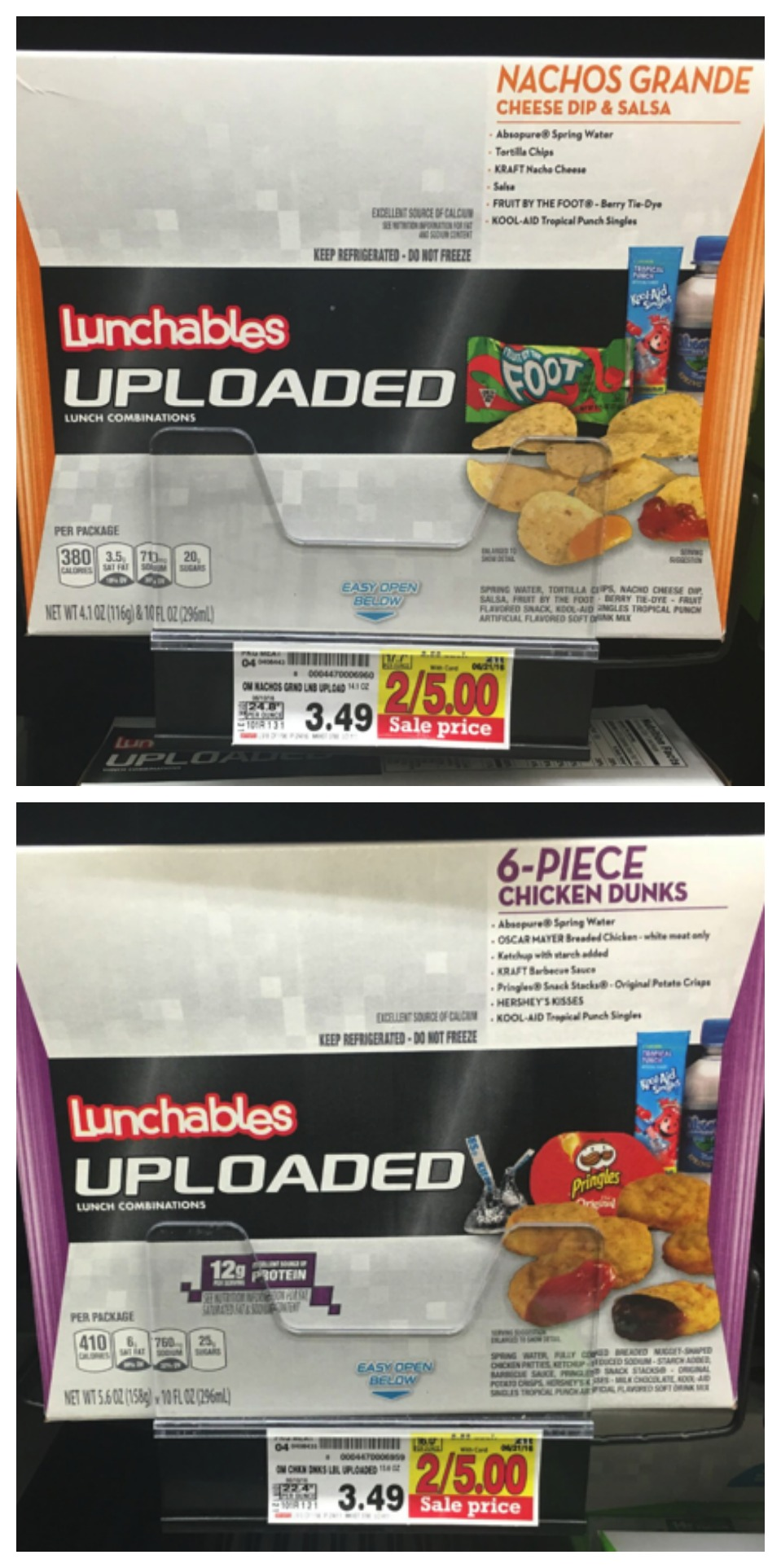 lunchables uploaded collage