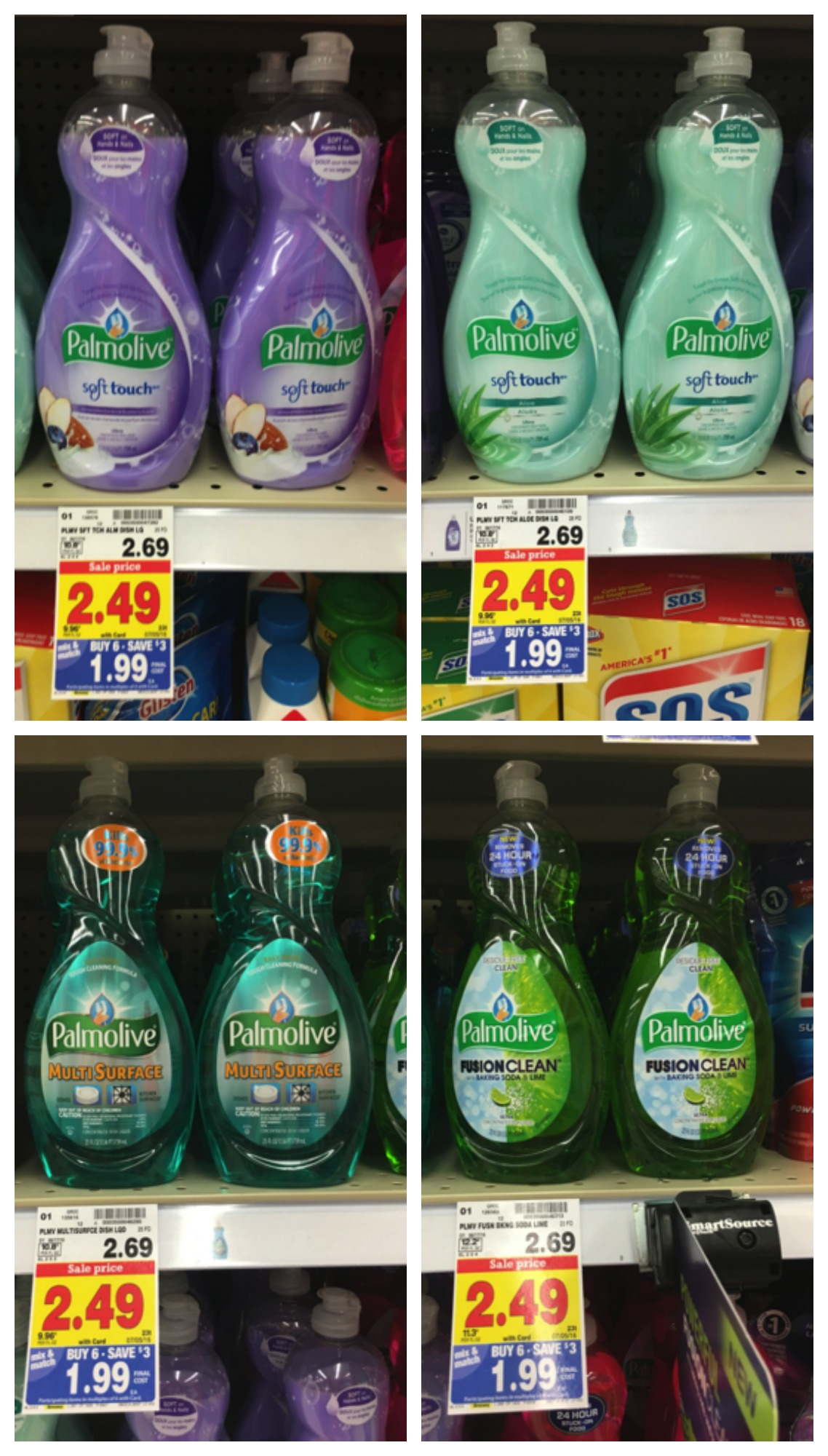 palmolive collage