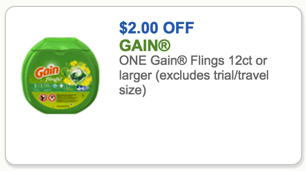gain coupon