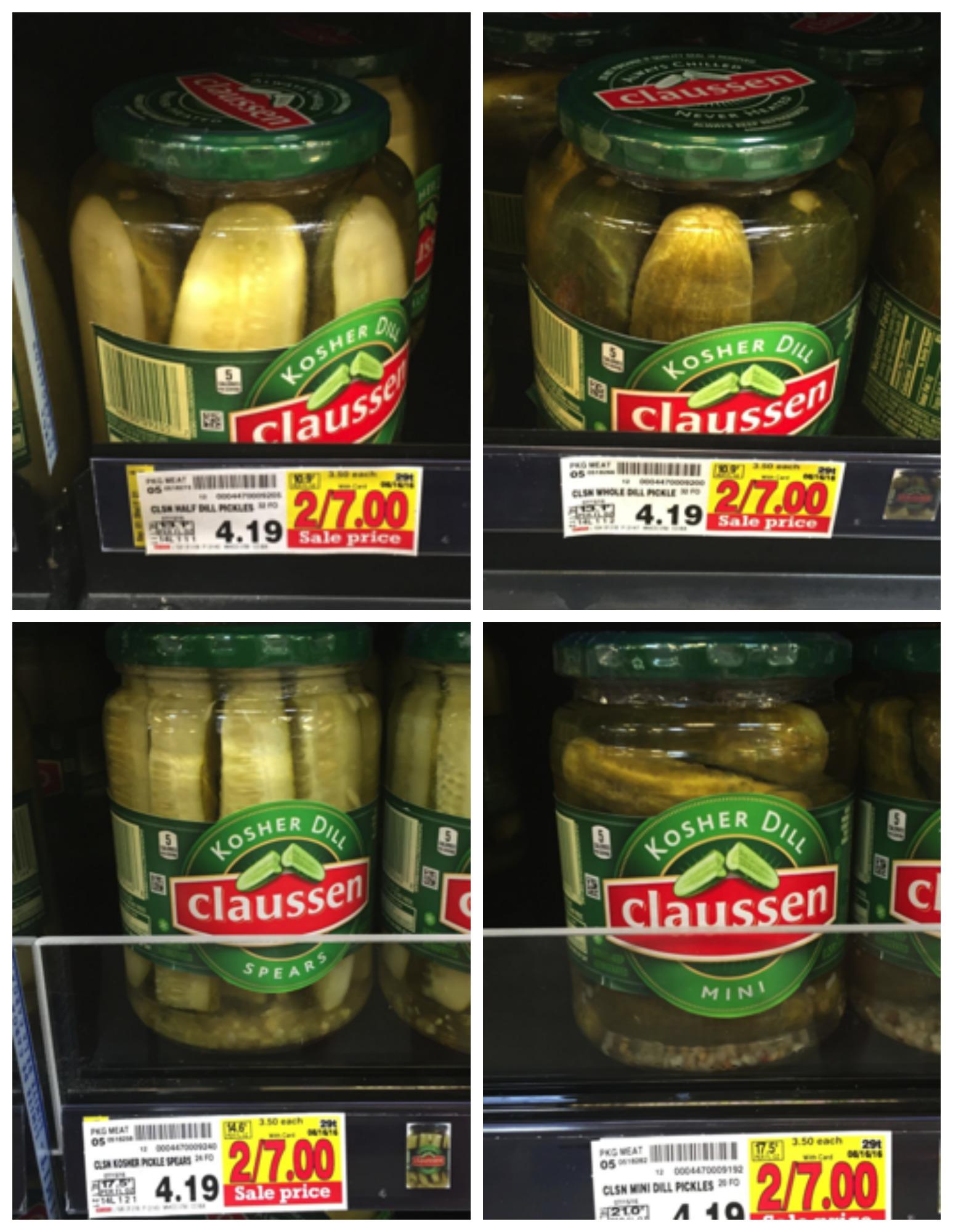 claussen pickle Collage