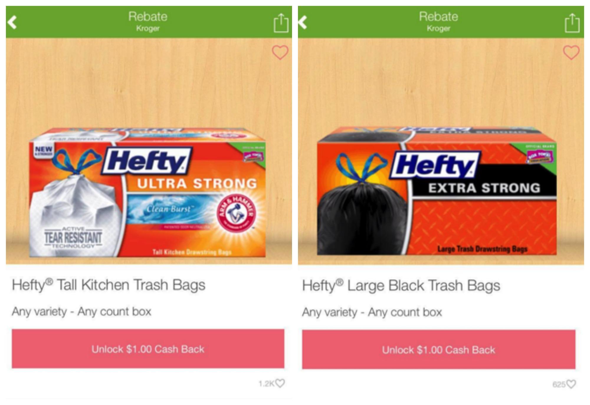 hefty rebates Collage