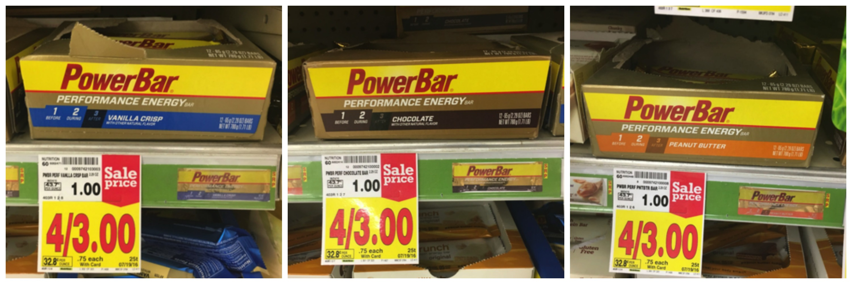power bar collage