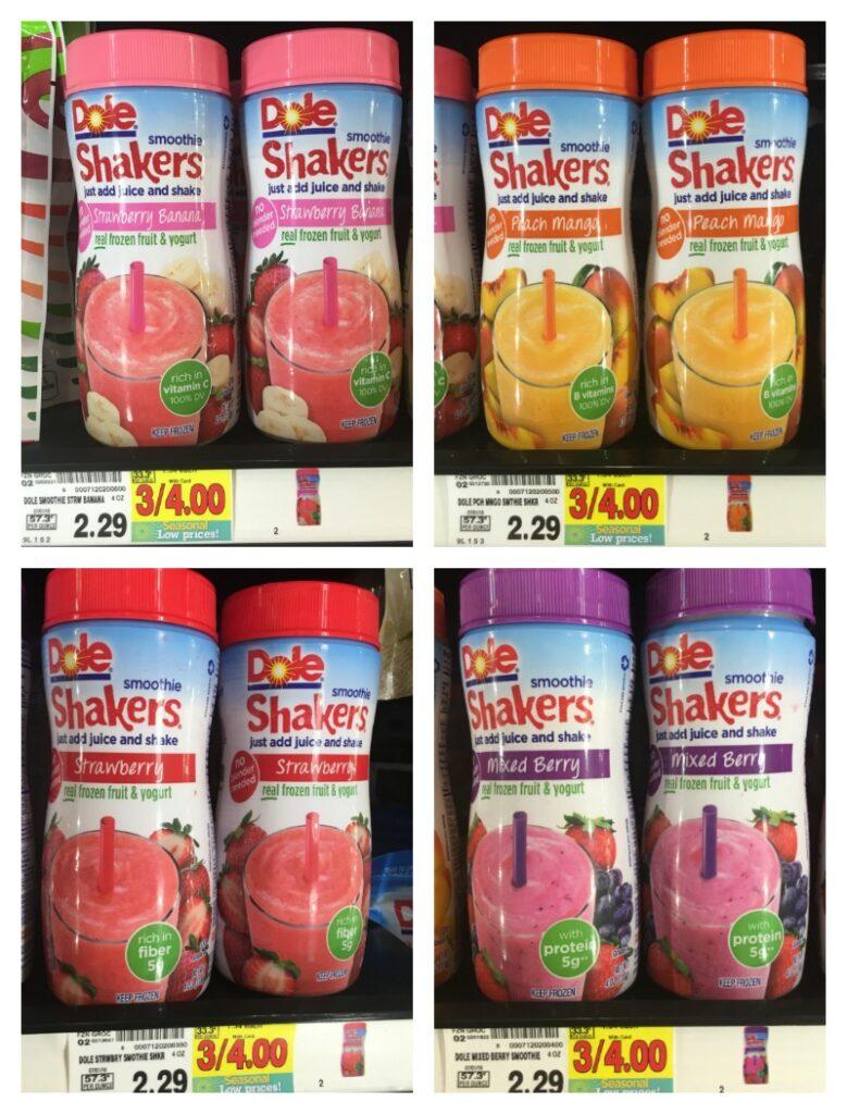 Dole Smoothie Shakers Only 008 At Kroger Kroger Krazy