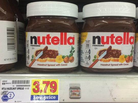 photograph regarding Nutella Printable Coupon known as Contemporary $2.00 Nutella Coupon \u003d Hazelnut Distribute for $1.79 at