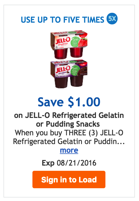 jello coupon