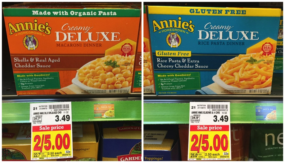 annies deluxe macaroni dinner