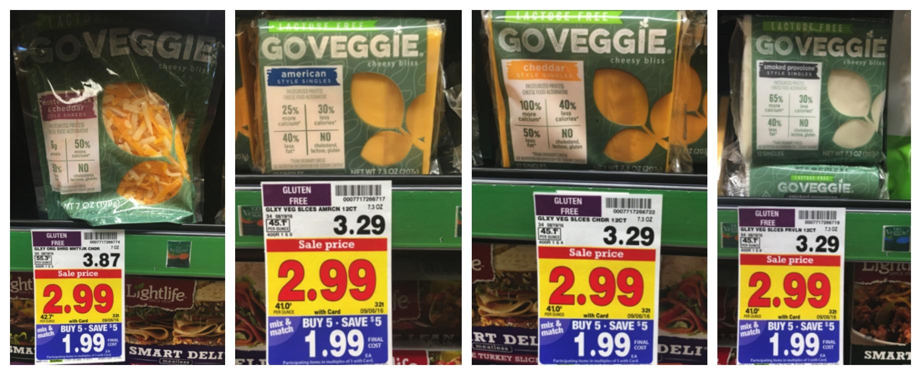 go veggie collage