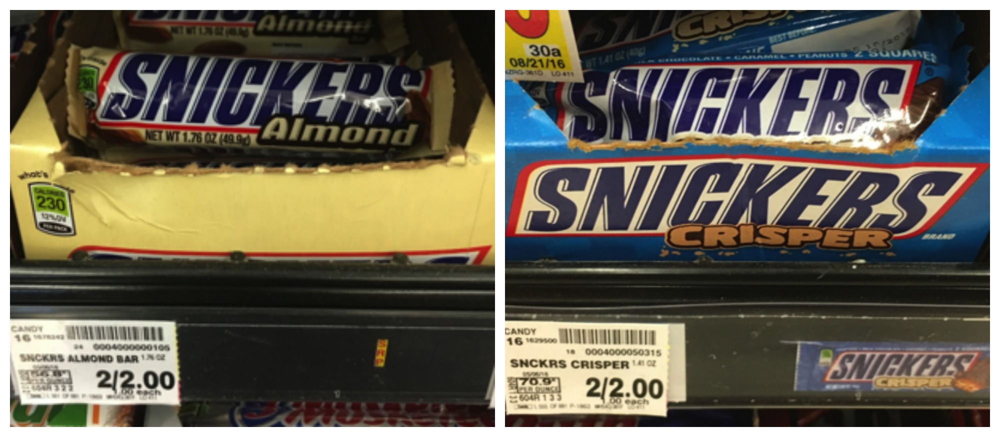 snickers Collage