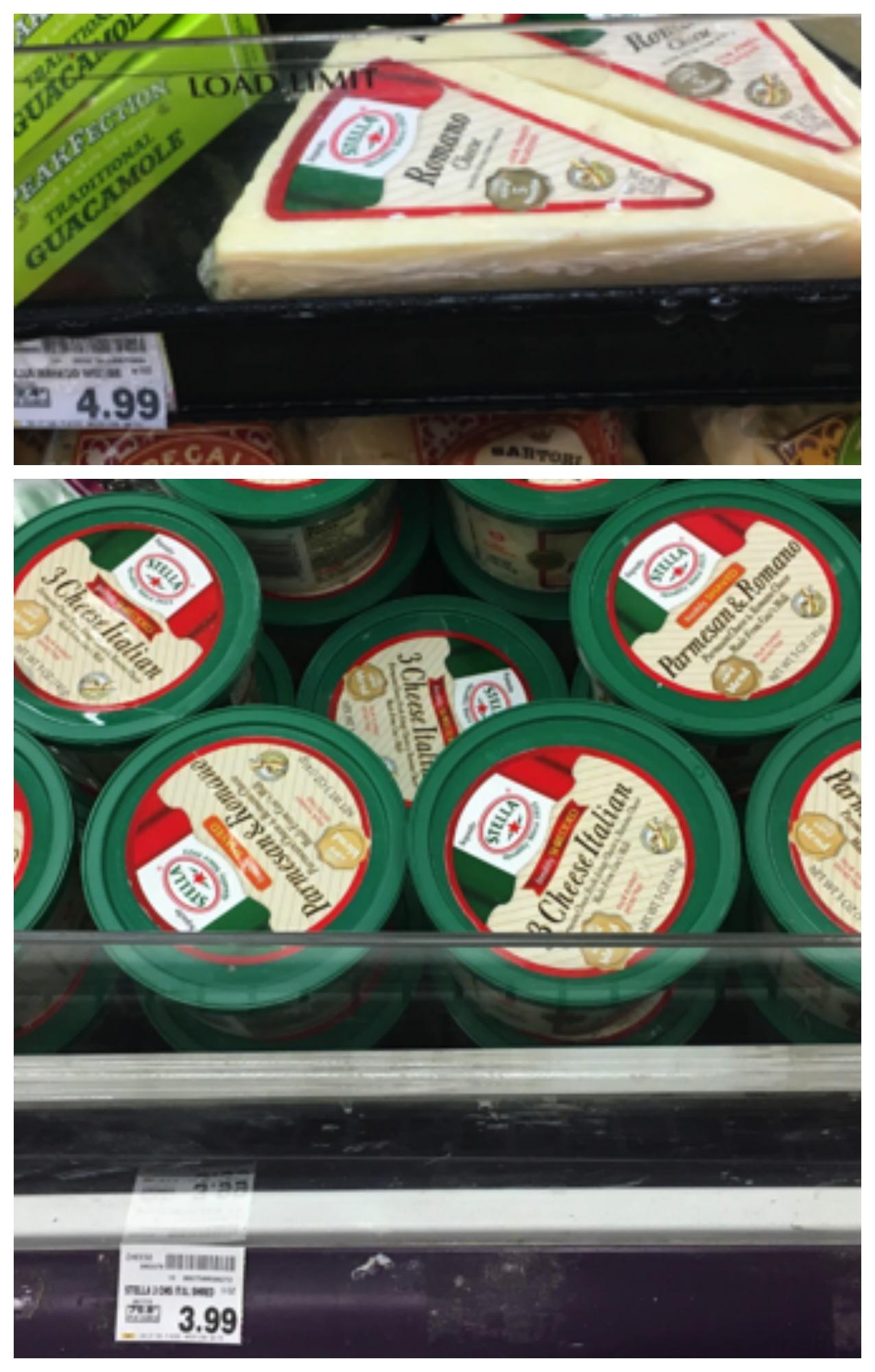 stella cheese Collage