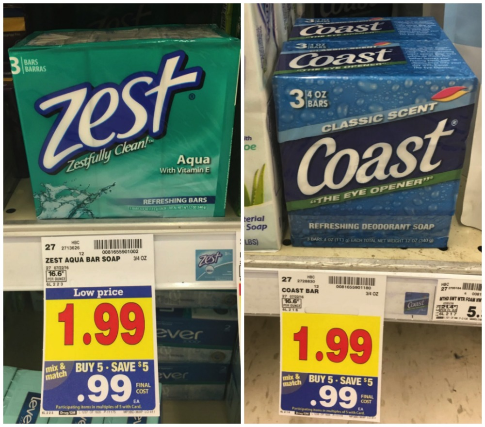 Zest coupons