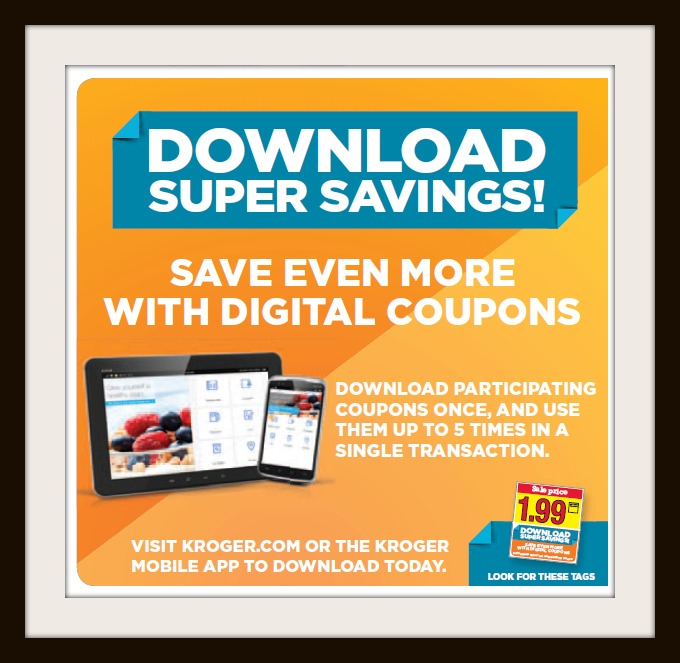 Download coupons to my kroger card