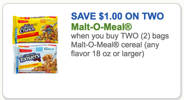 Malt o meal coupons