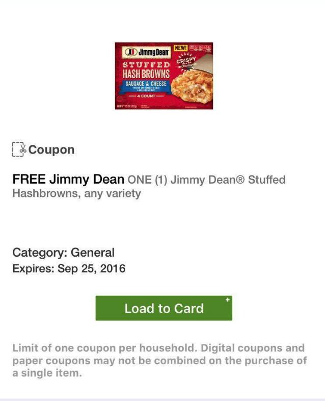 free jimmy dean