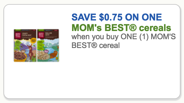 moms best cereal coupon