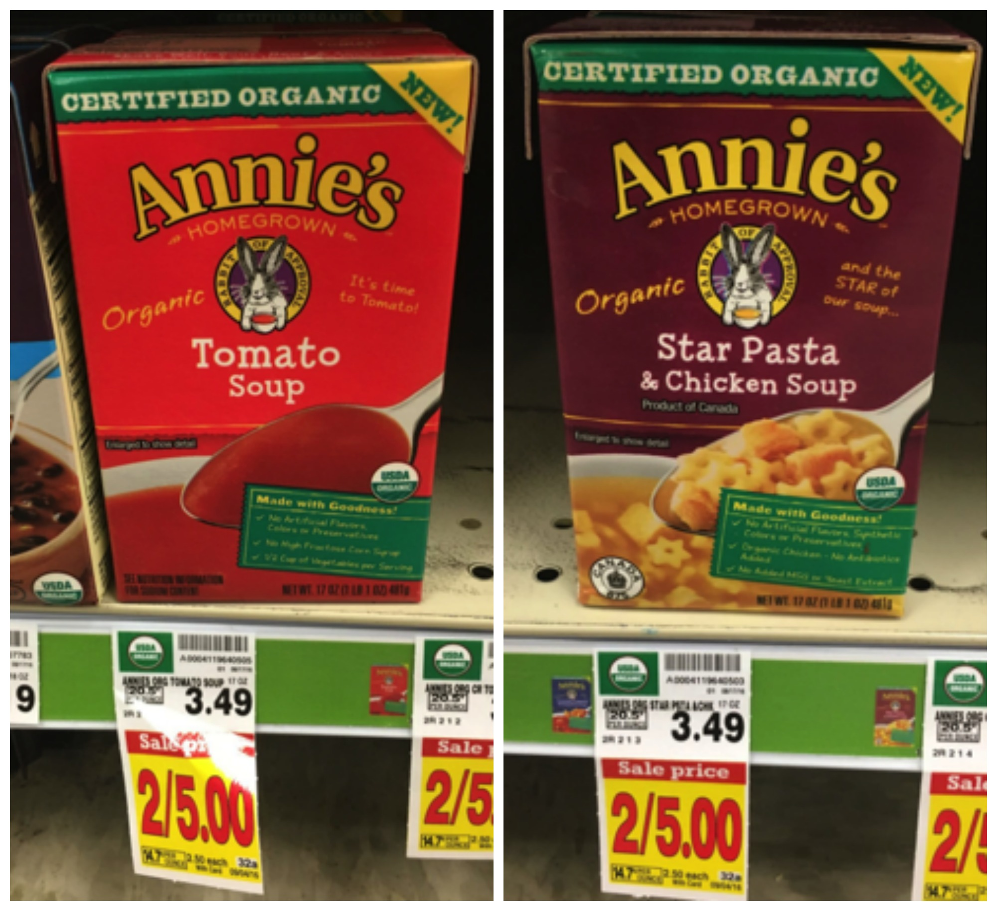 annies soup Collage