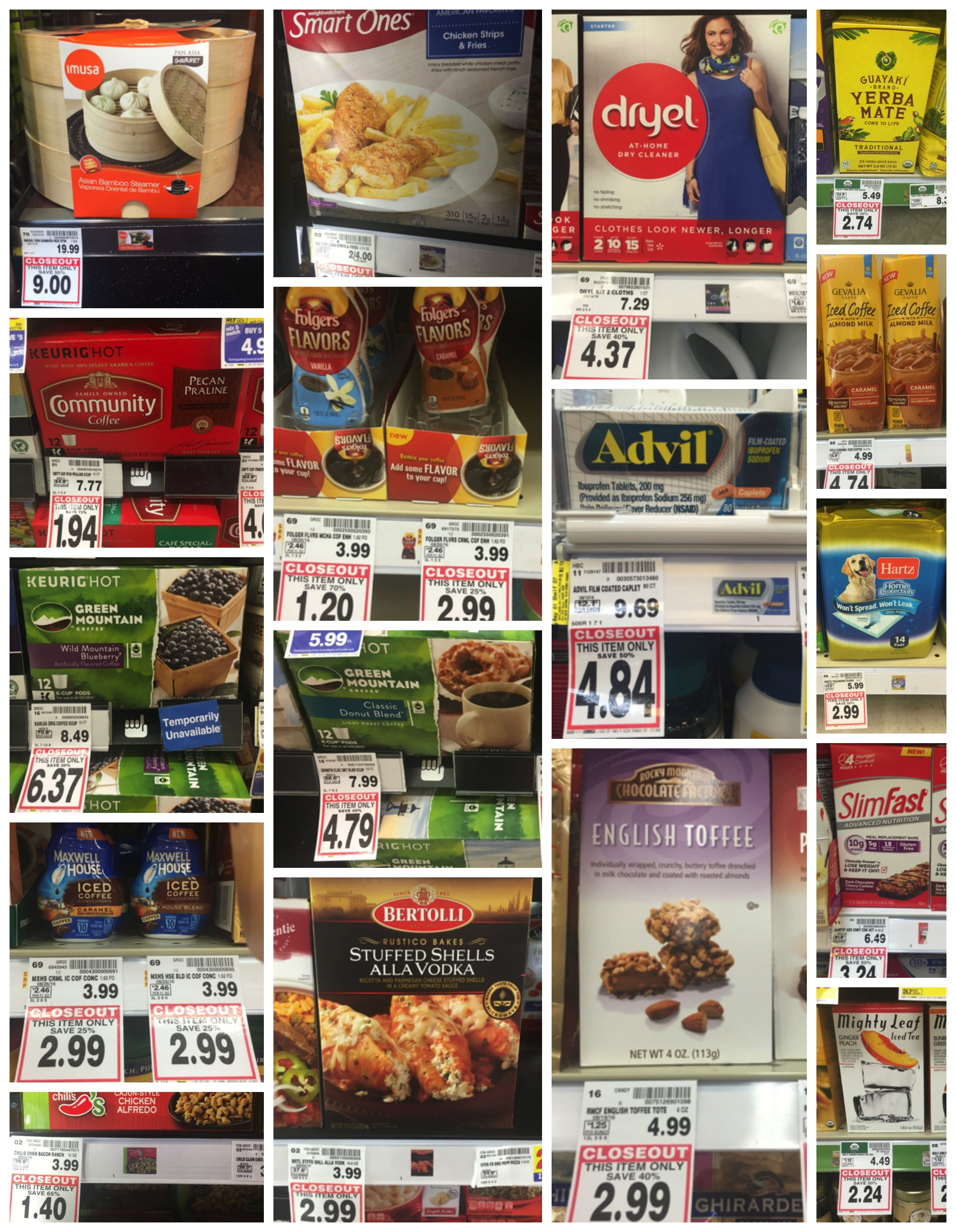 closeouts 95 Collage
