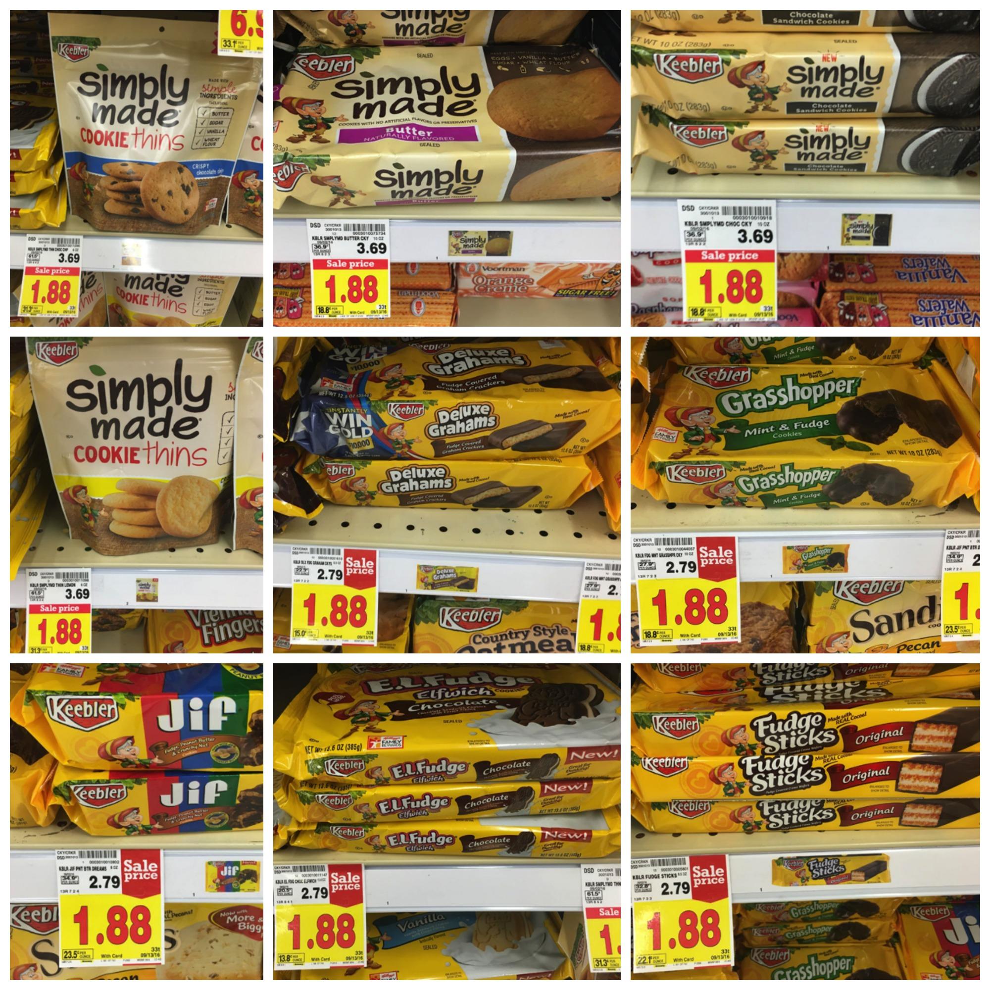 keebler cookies Collage