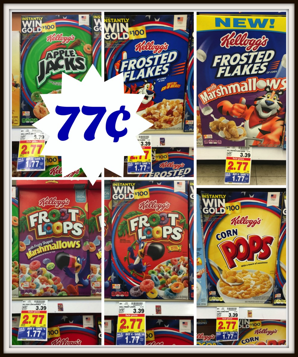 Kellogg's & Special K Cereal As Low As $0.77 At Kroger
