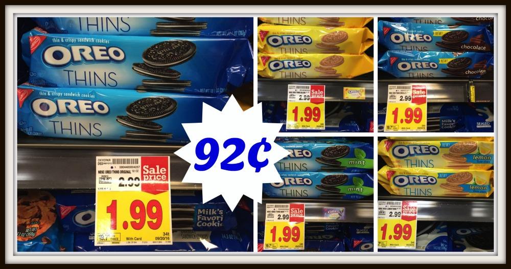 photograph regarding Oreo Printable Coupons identified as Nabisco Oreo Cookies as minimal as $0.92 at Kroger! Kroger Krazy
