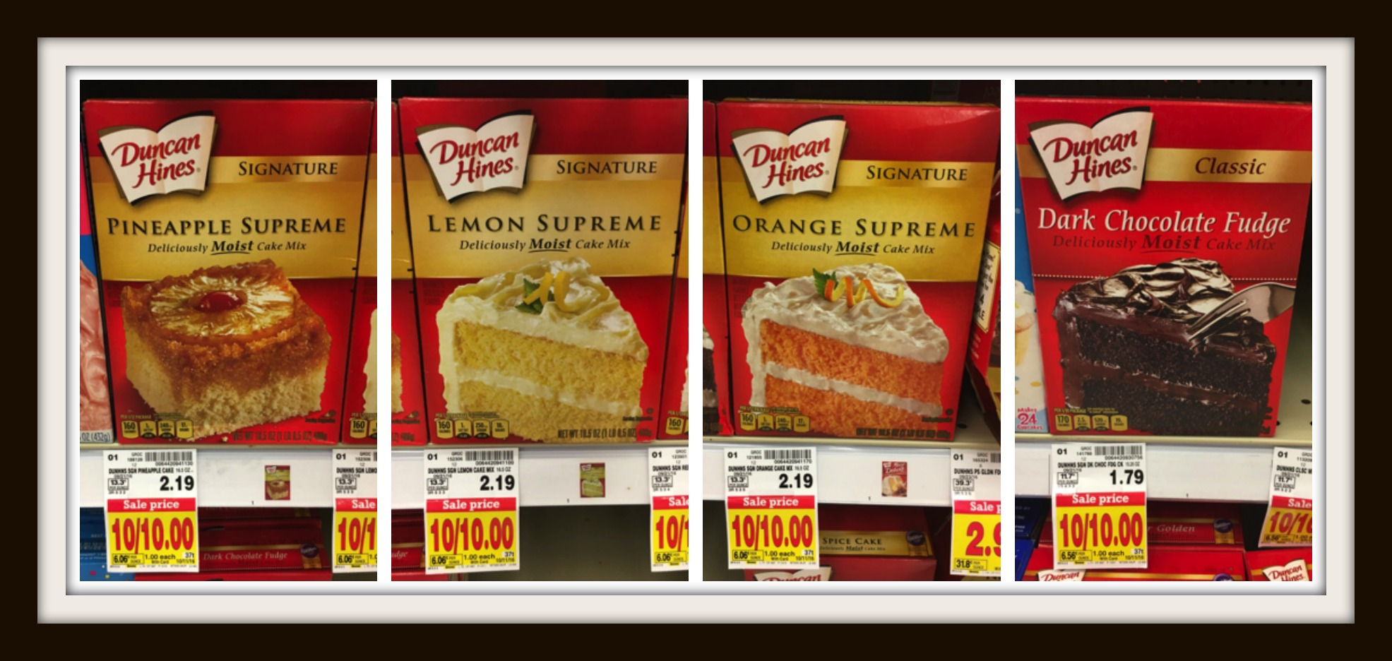 graphic about Duncan Hines Coupons Printable identify Duncan Hines Cake Mixes Merely $1.00 at Kroger!! Kroger Krazy