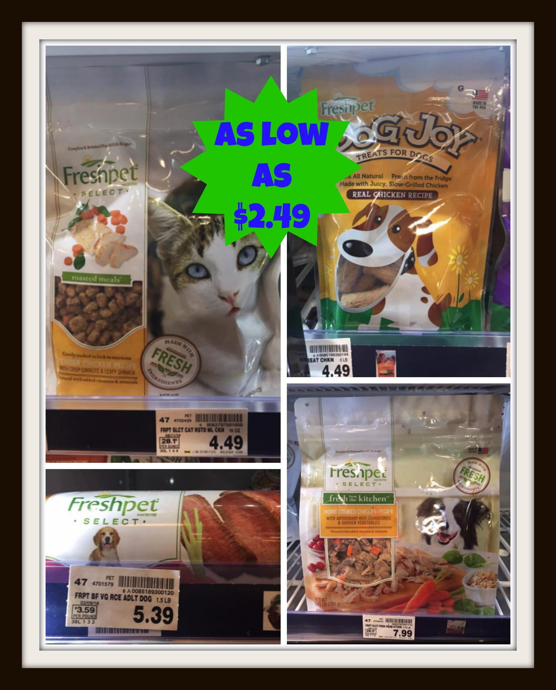 Freshpet Select Cat Food Coupons