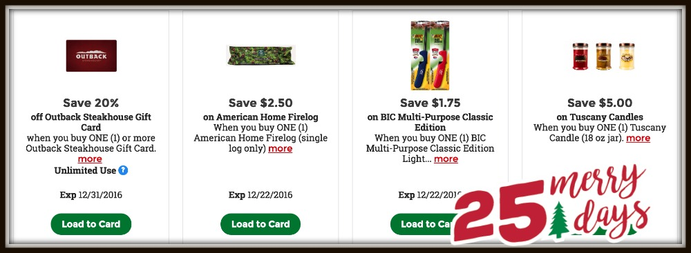 merry coupons