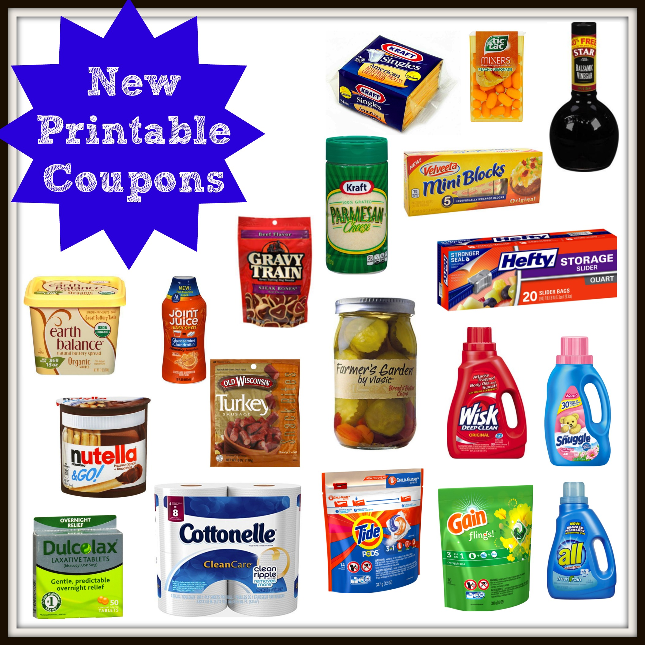 photograph relating to Kraft Coupons Printable identified as Fresh Printable Coupon codes! KRAFT, all, Snuggle, Tide, Income