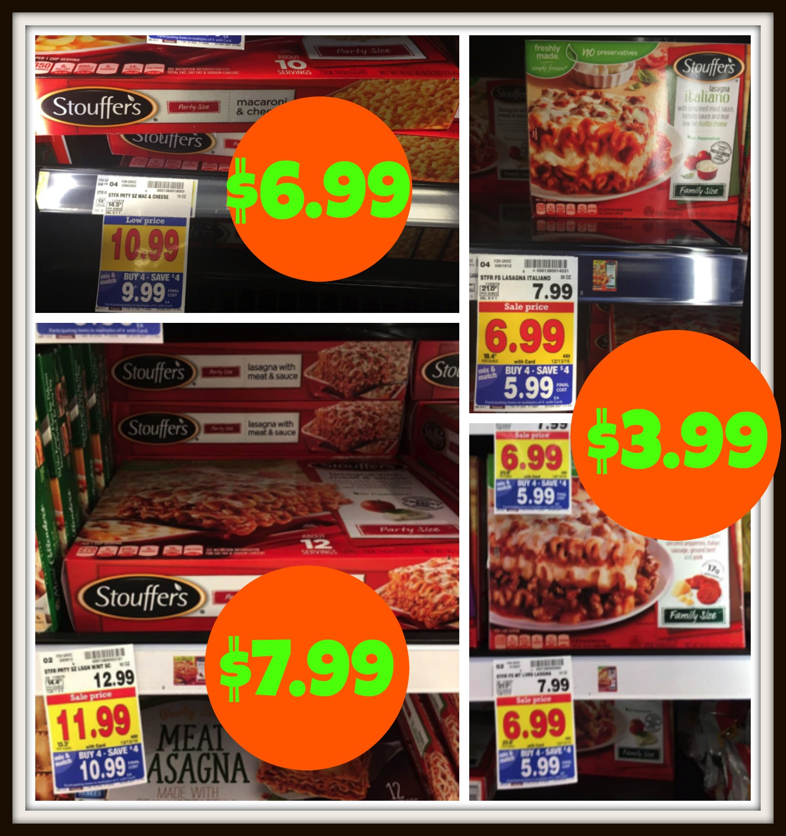 graphic about Stouffer Coupons Printable named Uncommon Stouffers Discount codes + Remaining Possibility Kroger Mega Function Bundle