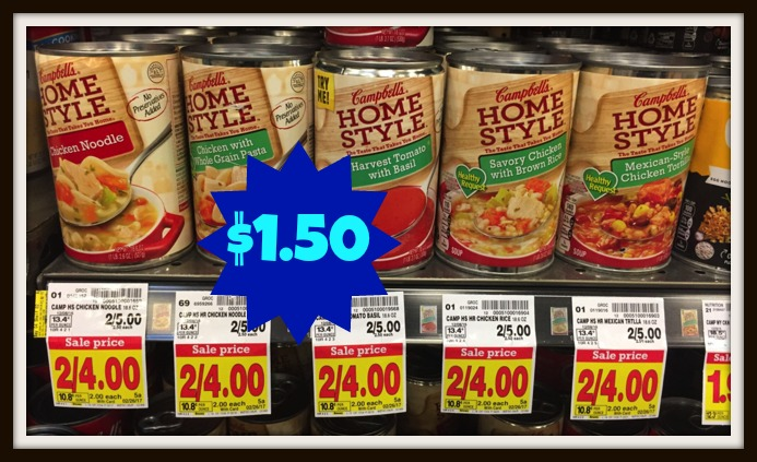 Campbell 39 S Homestyle Soup Only At Kroger Right Now