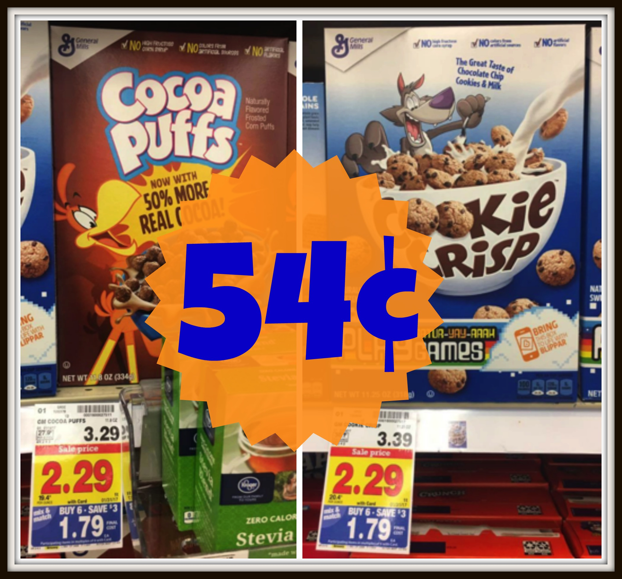 NEW Betty Crocker Coupons = Cocoa Puffs AND Cookie Crisp