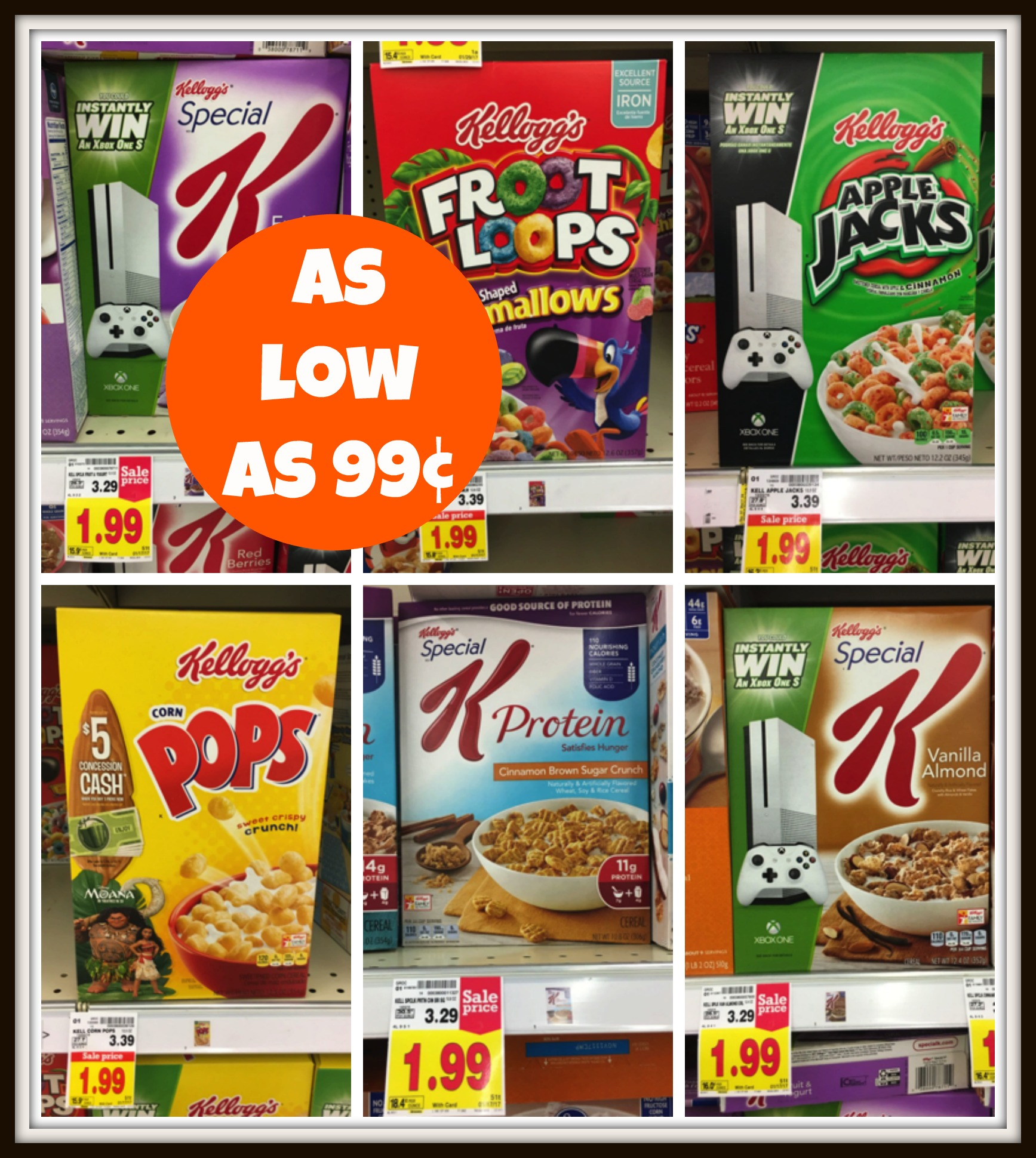 Grab Kellogg's Cereal For As Low As $0.99 At Kroger