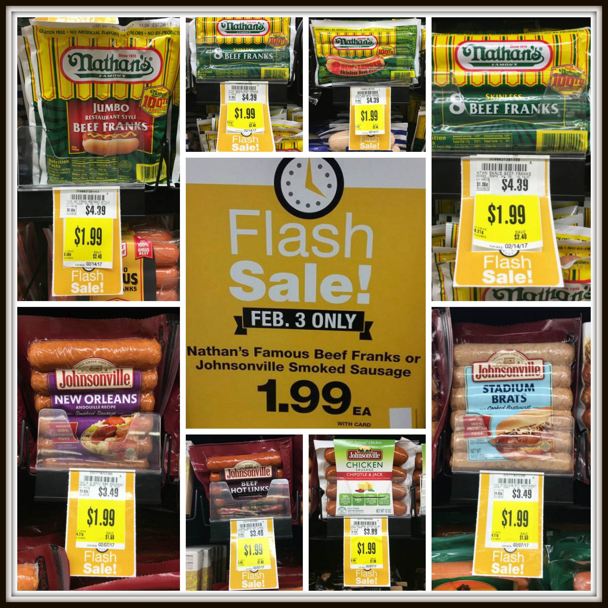 Flash Sale Kroger Nathan S Hot Dogs