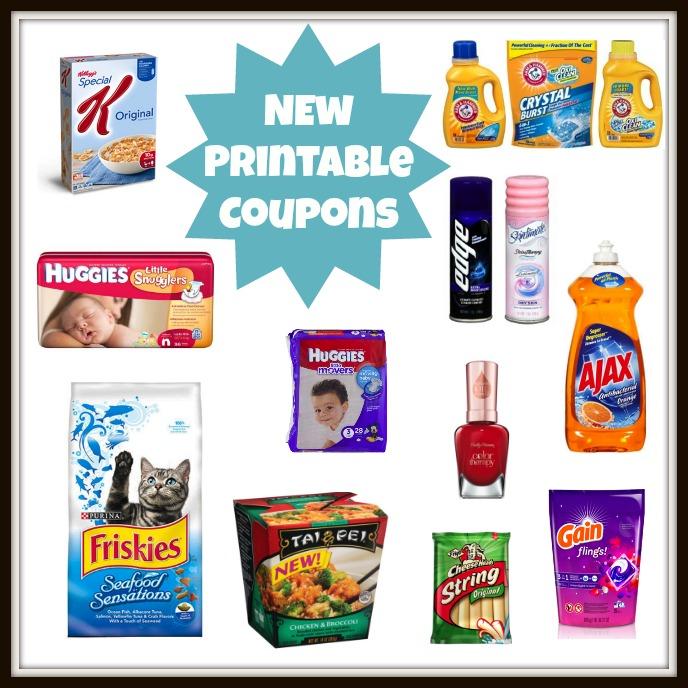 new printable coupons 25