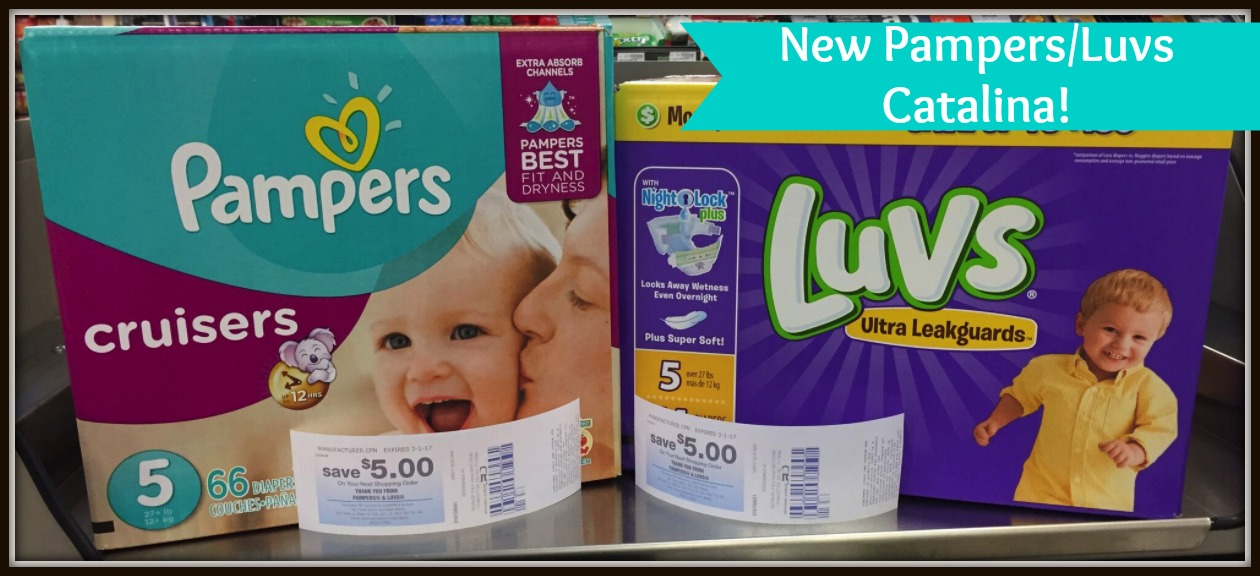 pampers luvs catalina test
