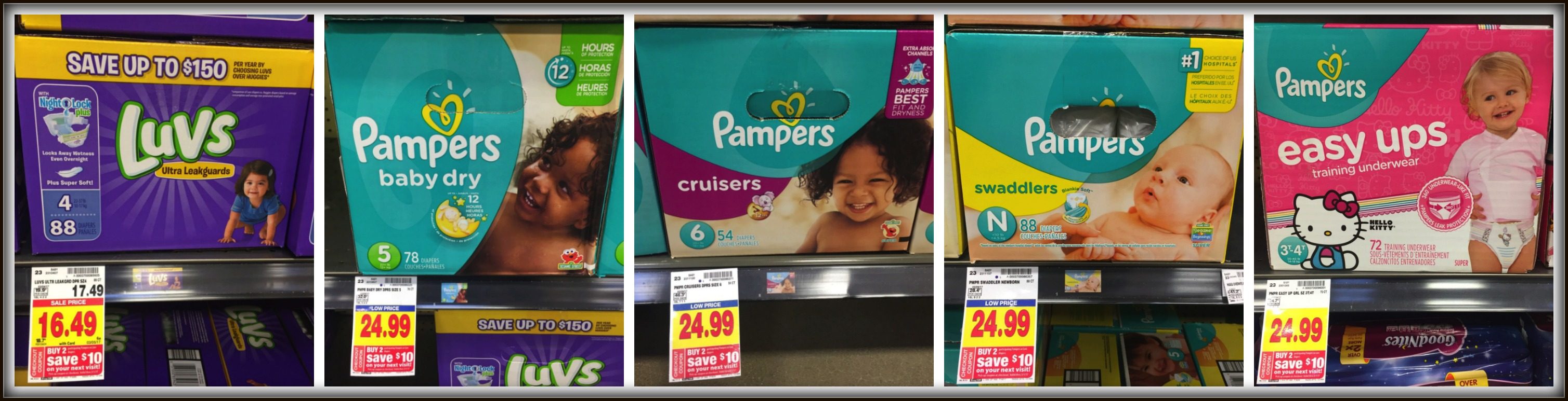 pampers luvs