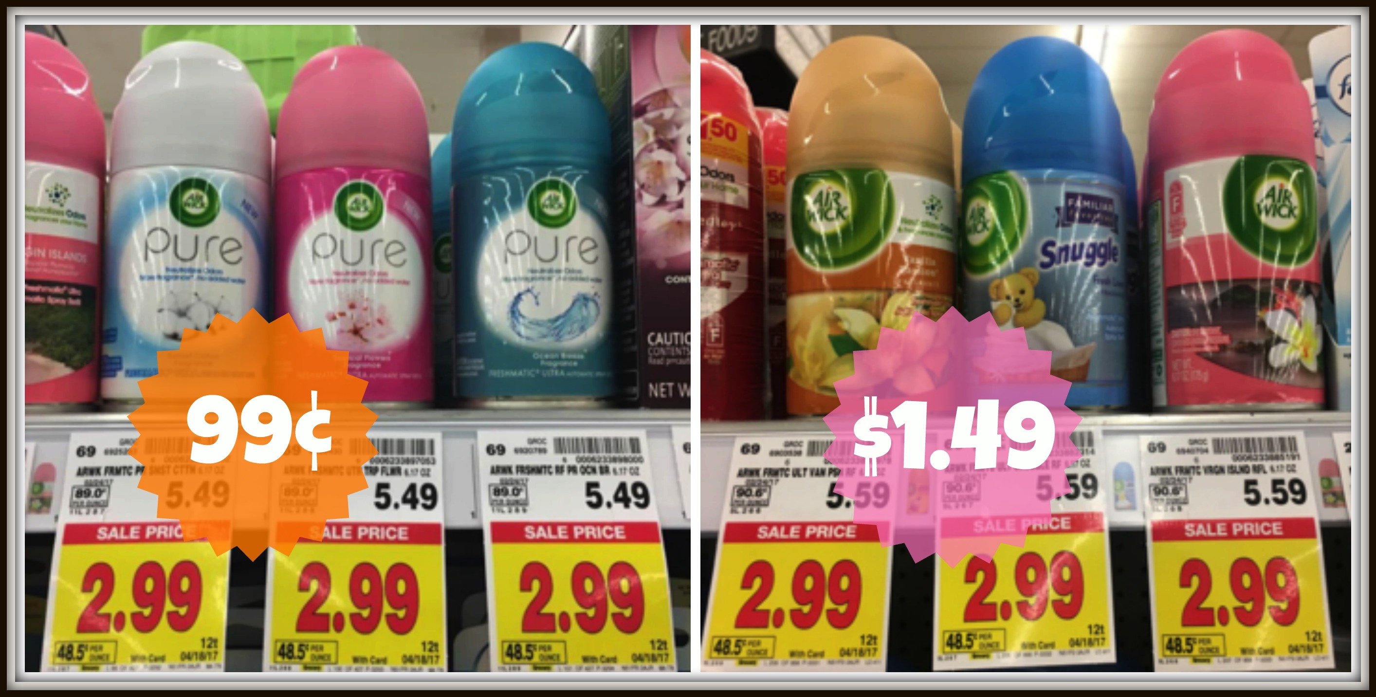 Fabulous Two New Air Wick Coupons Freshmatic Refills As Low As 99 Interior Design Ideas Inesswwsoteloinfo