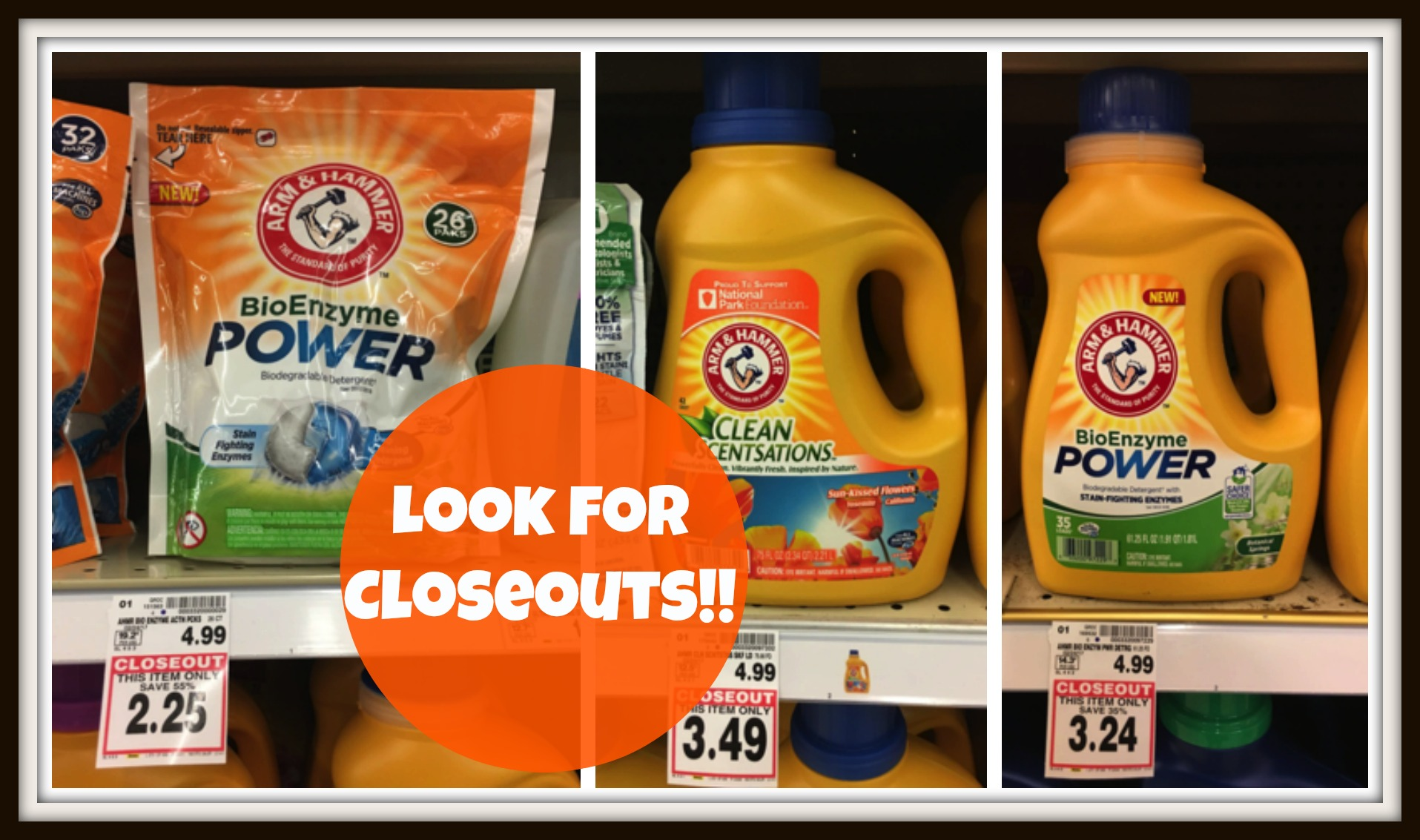 arm & hammer closeouts Image