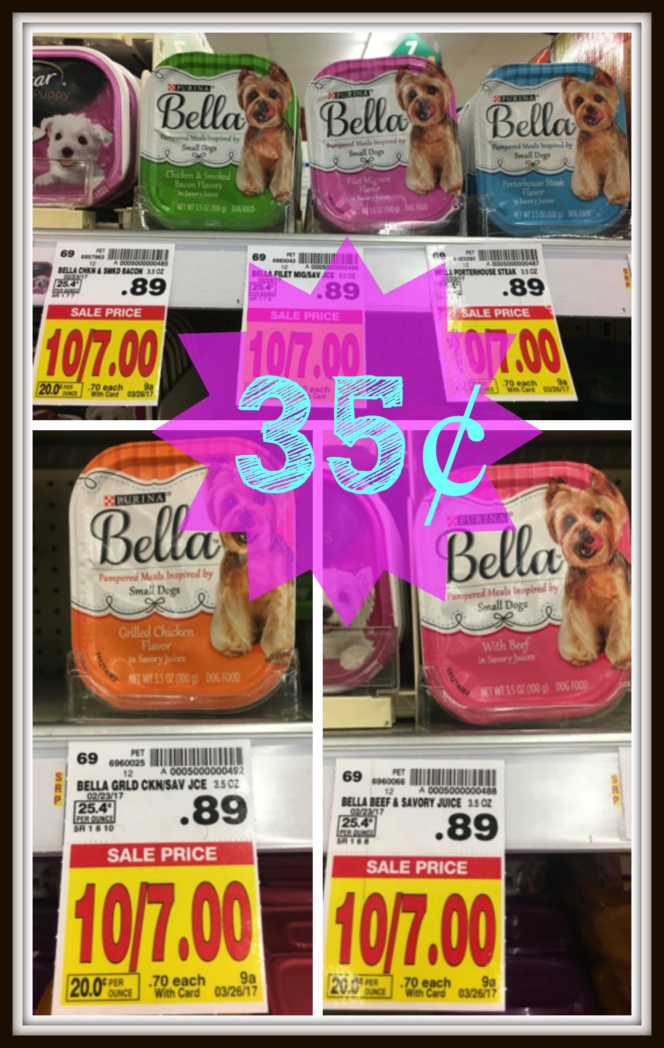 bella dog food Image