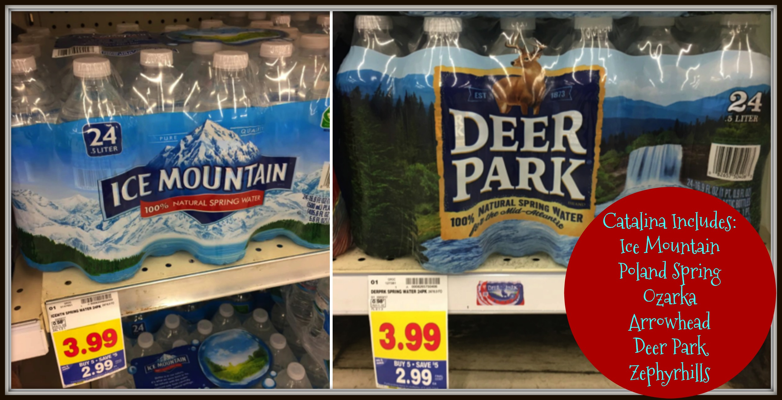 deer park ice mountain Image