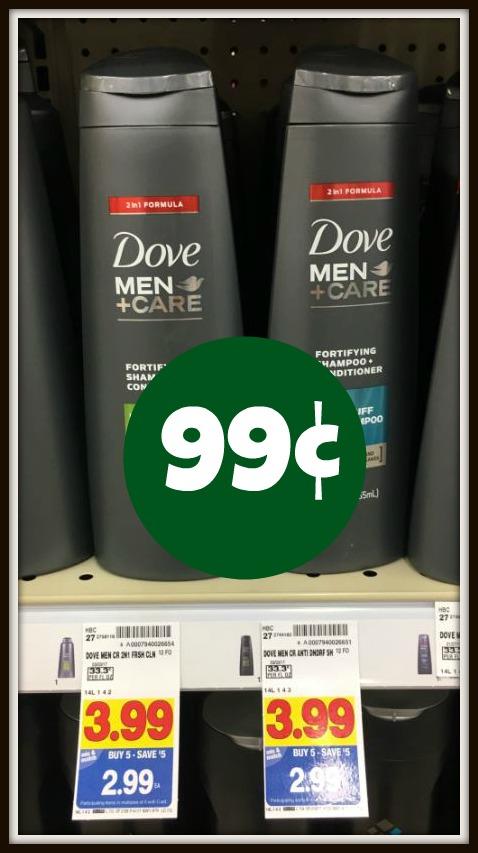 Dove Men+Care Shampoo ONLY $0.99 with Kroger Mega Event! - Kroger Krazy