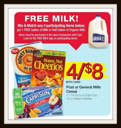 free milk promo