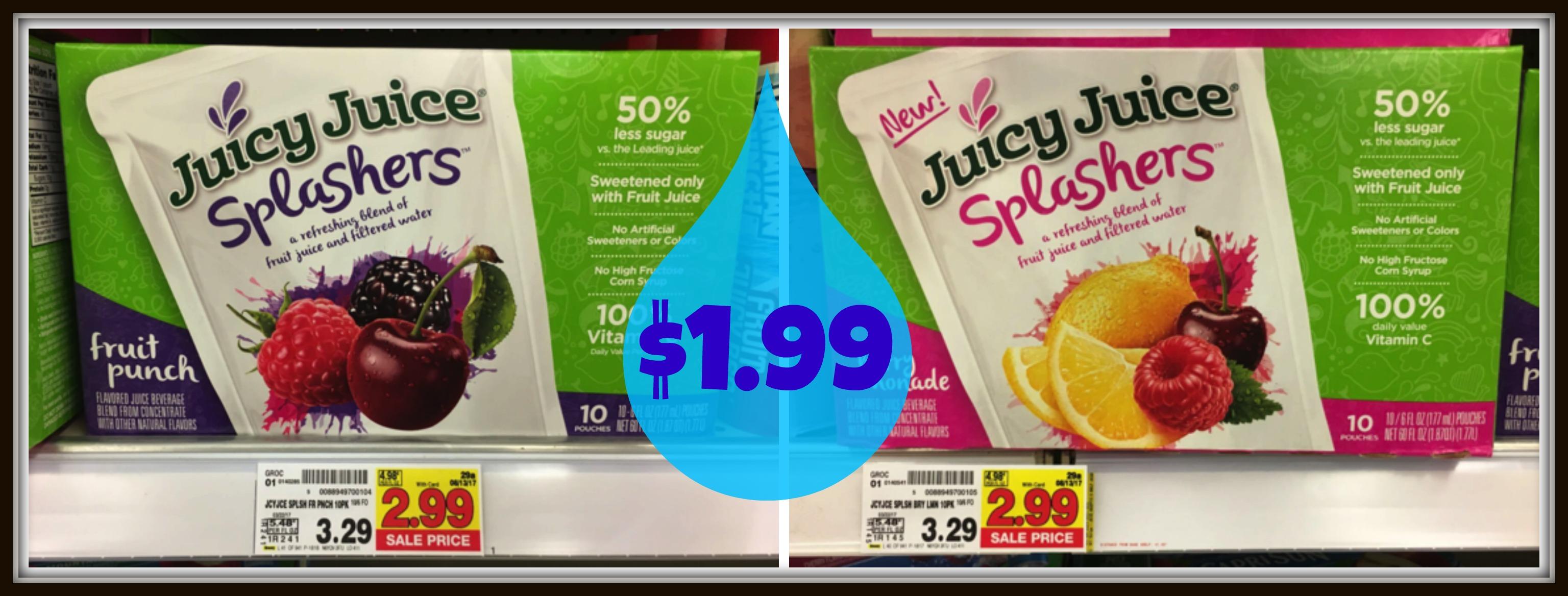 juicy juice splashers Image