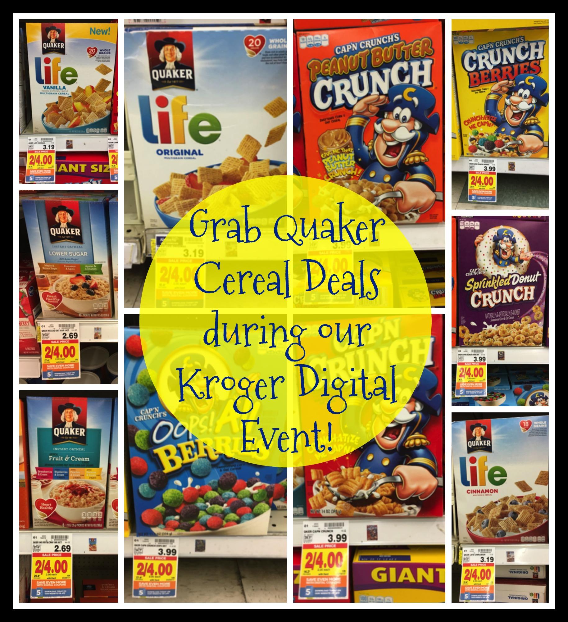 quaker cereal Image