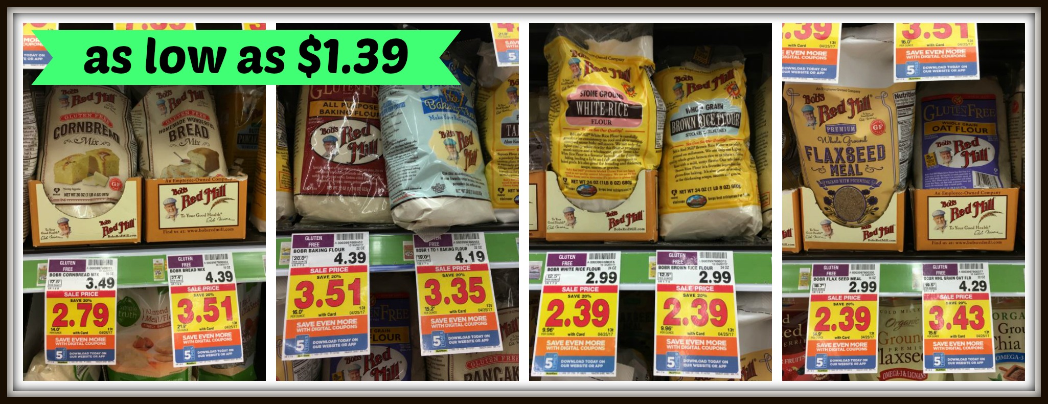 photo about Bobs Printable Coupons called Bobs Crimson Mills Products and solutions as small as $1.39 at Kroger