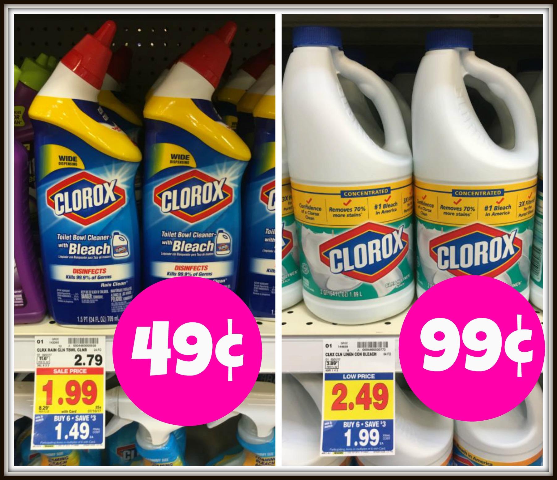 Clorox bleach coupons