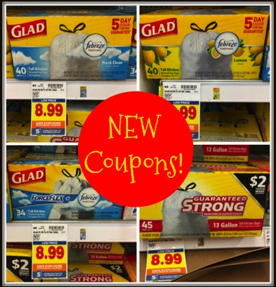 graphic about Glad Trash Bags Printable Coupon named Fresh Contented Trash Luggage Coupon codes + Kroger Offer Condition! Kroger