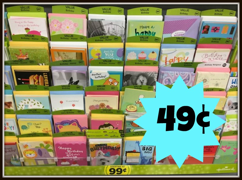 hallmark greeting cards only 0 49 at kroger kroger krazy