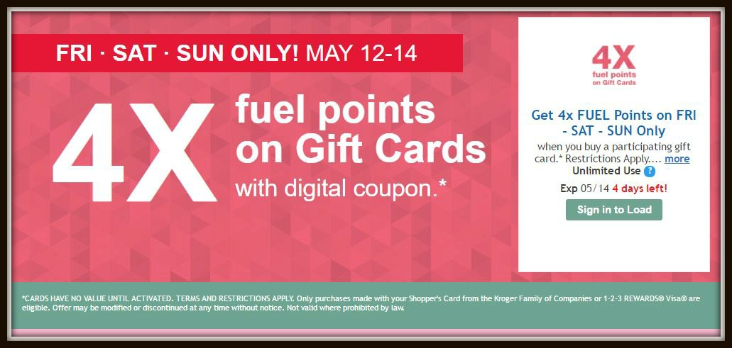 4x fuel points