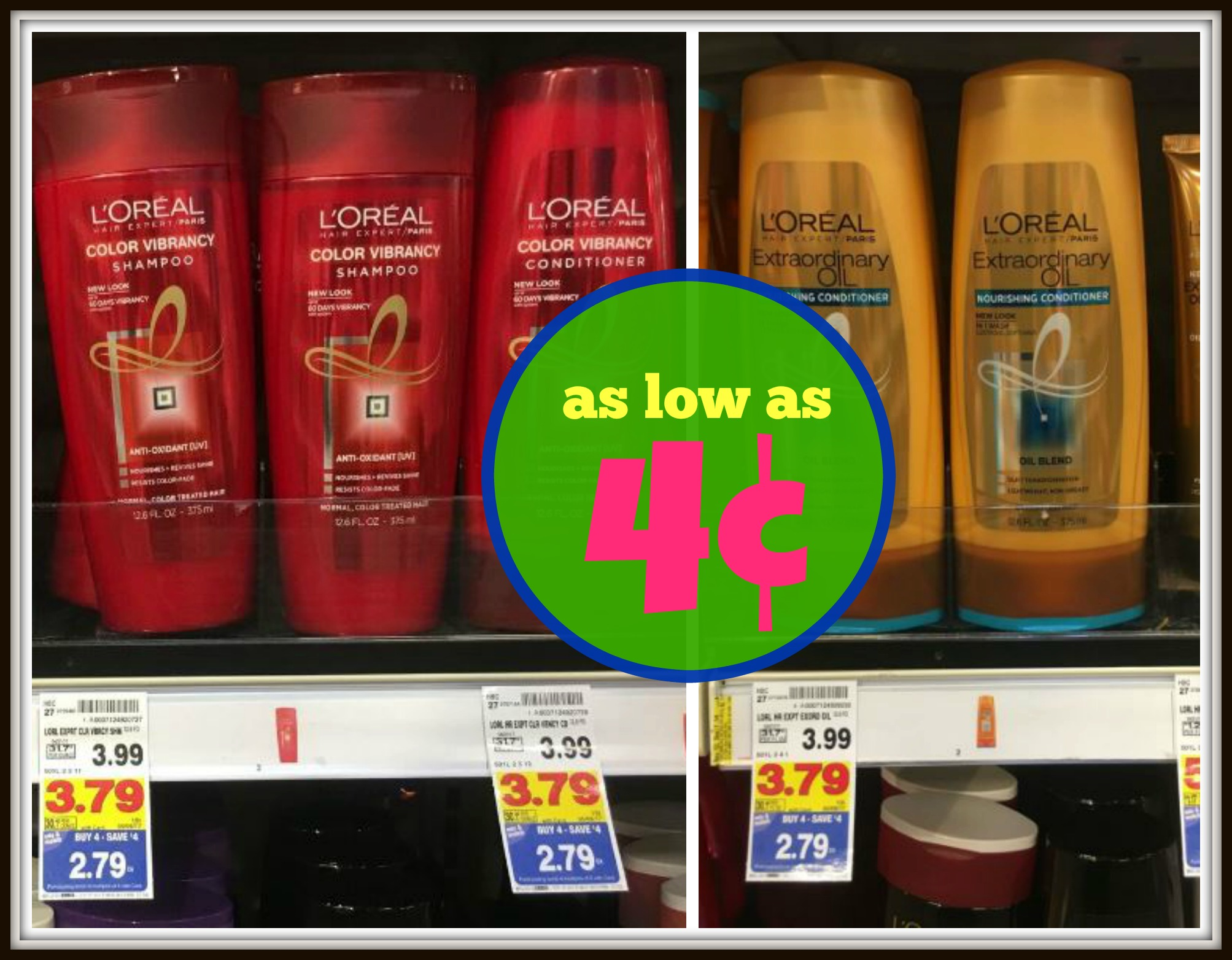 L'Oreal Hair Expert Shampoo & Conditioner as low as $0.04 with Kroger Mega Event!! - Kroger Krazy